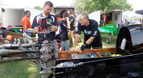 US TITLE SERIES CHAMPIONSHIP OUTBOARD HYDROPLANE RUNABOUT RACING 7-25-15 FROM ANGELA