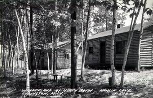 HAMLIN LAKE CABINS LUDINGTON