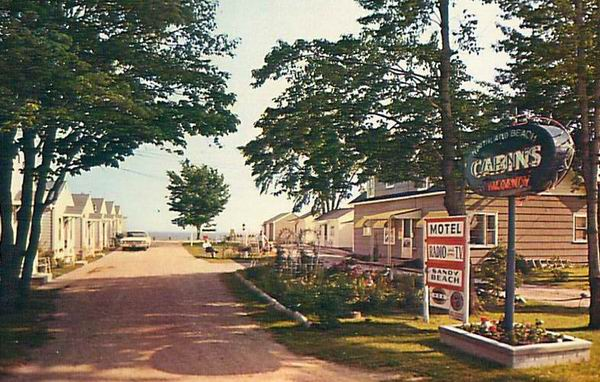 NORTHLAND BEACH MOTEL CABINS EAST TAWAS