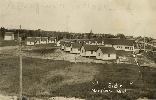 SIDS CABINS 1933 MACKINAW CITY FROM AARON FRANK