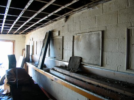 Burnside Drive-In Theatre - INSIDE CONCESSION2 - PHOTO FROM WATER WINTER WONDERLAND