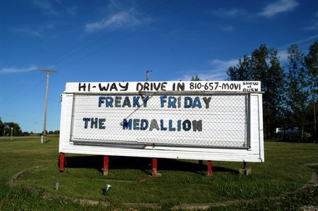 Hi-Way Drive-In Theatre - MARQUEE