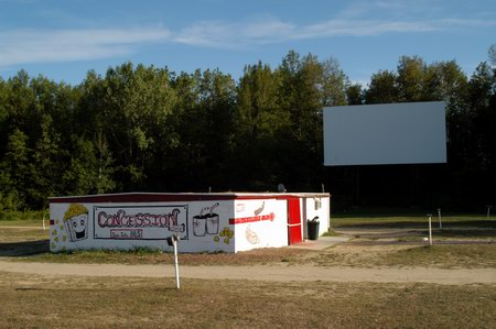 Hi-Way Drive-In Theatre - CONCESSION AND SCREEN DAY