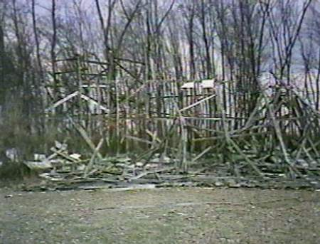 Hi-Way Drive-In Theatre - ORIGINAL SCREEN DESTROYED BY STORM IN APRIL 1996