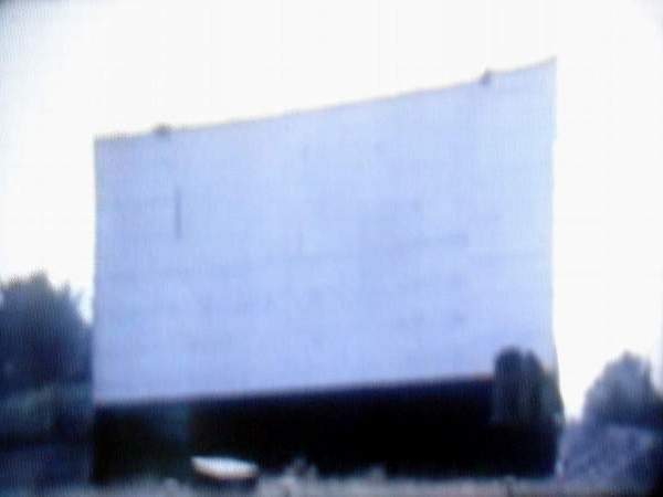 Coldwater Drive-In Theatre - ABANDONED COLDWATER DRIVE-IN SCREEN TOWER LATE 1960S COURTESY TOM MAGOCS