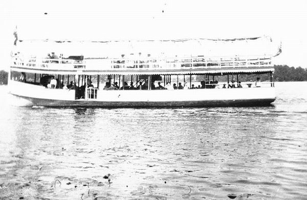 LAKE ORION FERRY BOAT 1927 FROM RUSS MARSHALL