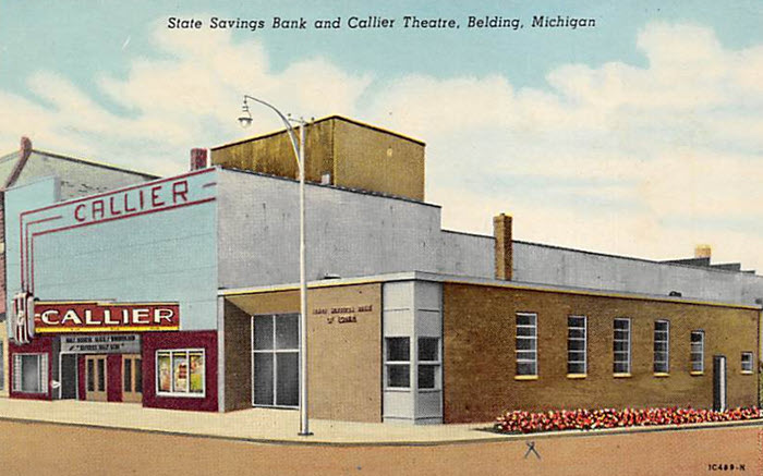 Callier Theatre - OLD POST CARD