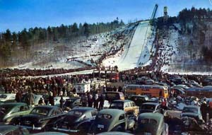 SKI JUMP IRON MOUNTAIN